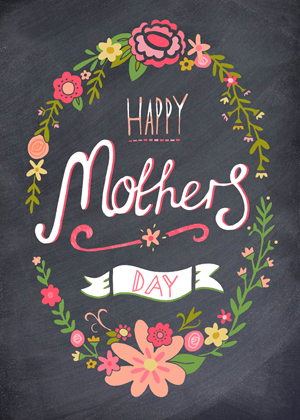 mothers day chalkboard