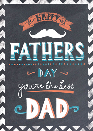 fathers day chalkboard